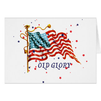 American Flag, Old Glory Card