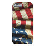 American flag on iPhone 6 ID™ Barely There iPhone 6 Case