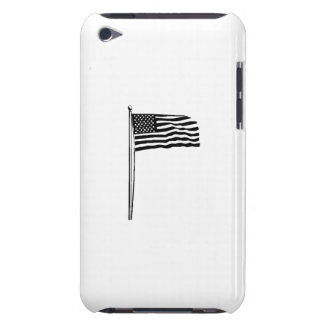 American Flag on Pole Case-Mate iPod Touch Case