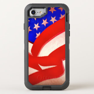 American Flag OtterBox Apple iPhone 7 Defender Cas OtterBox Defender iPhone 7 Case