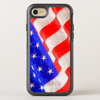 American Flag OtterBox Apple iPhone 7 Symmetry OtterBox Symmetry iPhone 7 Case