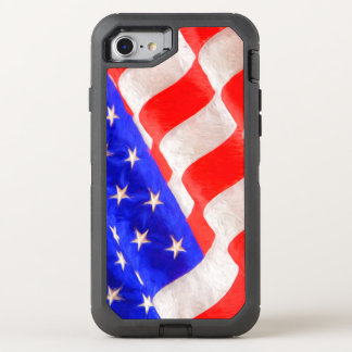 American Flag OtterBox Defender iPhone 6/6s Cas OtterBox Defender iPhone 7 Case