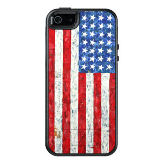 American Flag OtterBox iPhone 5/5s/SE Case