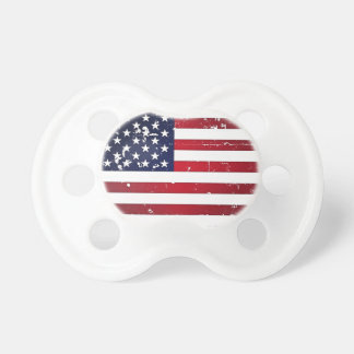 American Flag Pacifiers