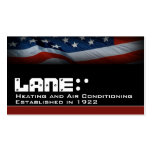 American Flag Pack Of Standard Business Cards