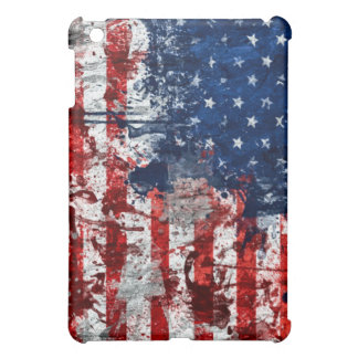 American Flag Paint Case For The iPad Mini