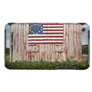 American flag painted on barn barely there iPod covers