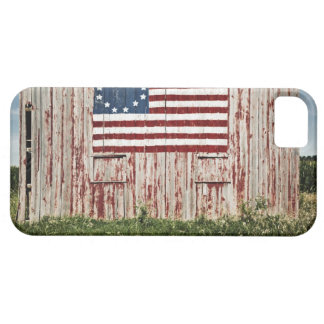 American flag painted on barn iPhone 5 cover