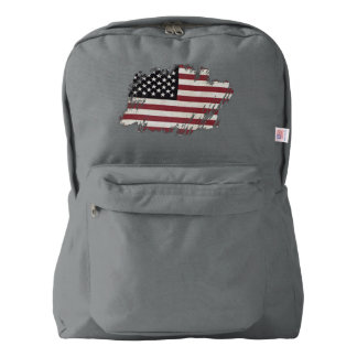 American Flag Patch. Backpack