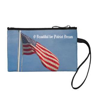 American Flag Patriot Dream Custom Coin Purse