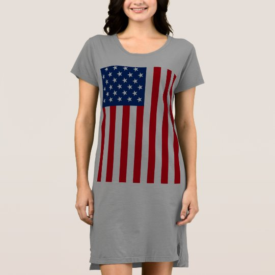 American Flag Patriotic Dress