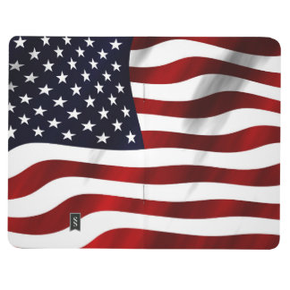 American Flag Patriotic Independence Day Journal