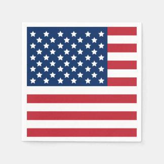 American Flag | Patriotic Paper Napkin