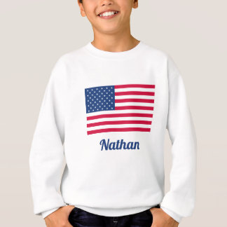 American Flag | Personalized Sweatshirt