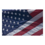 American flag. photographic print