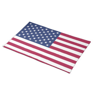 American Flag Placemat