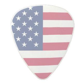 American Flag Polycarbonate Guitar Pick