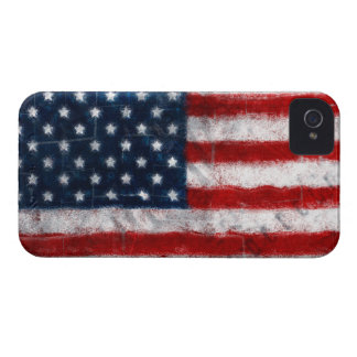 American Flag Portrait iPhone 4 Case