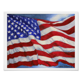 American Flag - Print