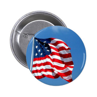 American Flag products 6 Cm Round Badge