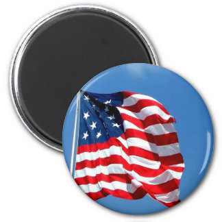 American Flag products 6 Cm Round Magnet