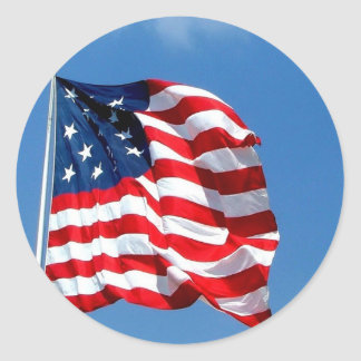 American Flag products Sticker
