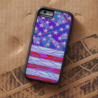 American Flag Red White And Blue USA Patriotic Tough Xtreme iPhone 6 Case