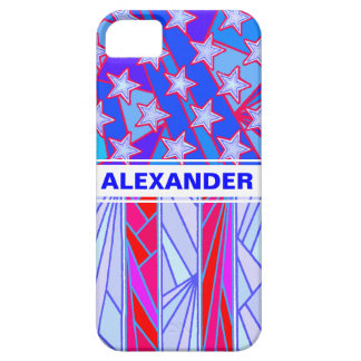 American Flag Red White And Blue USA Patriotic iPhone 5/5S Cases
