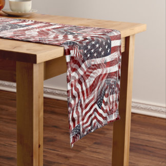 American Flag Red White Blue Stripes Stars Pattern