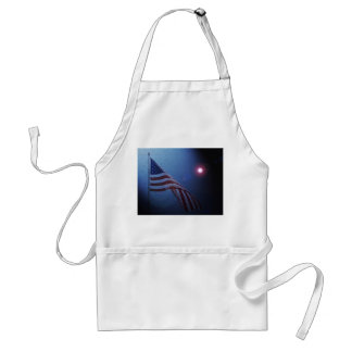 American Flag!  Rockets red glare! Aprons