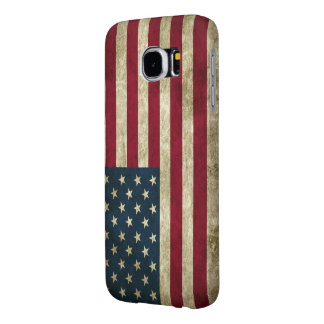 American Flag Samsung Galaxy S6 Cell Phone Case