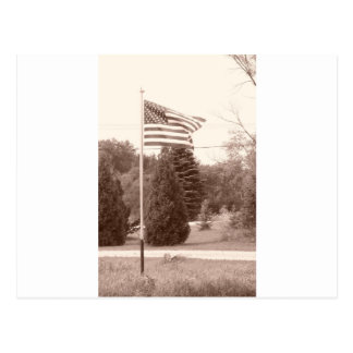 American Flag - show your spirit! Post Cards
