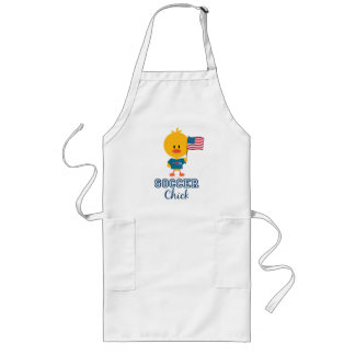 American Flag Soccer Chick Apron