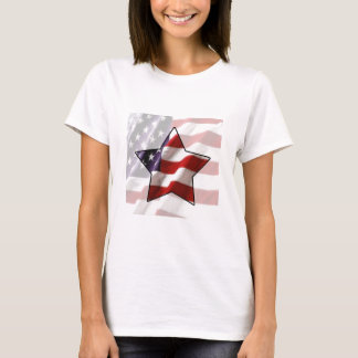 American Flag Star T-Shirt