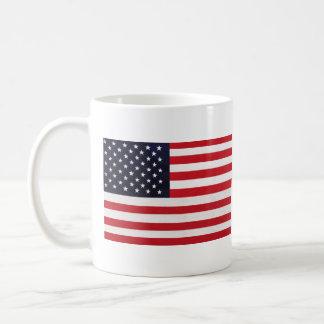 American Flag Stars Stripes Mug