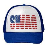 American Flag SWAG Blue Mesh Snapback Trucker Hat