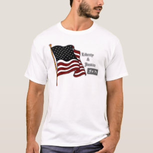 6a0dce904673a Liberty And Justice For All T-Shirts   Shirt Designs