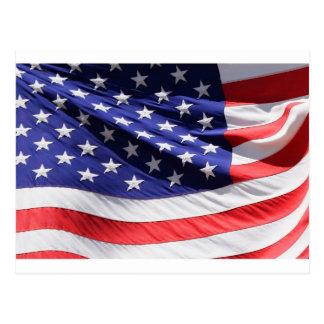 American-flag-Template Postcard