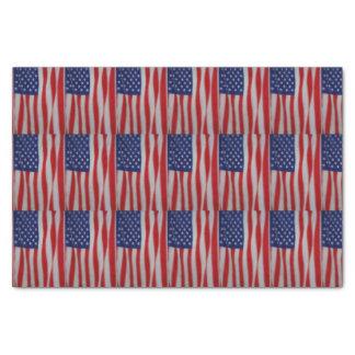 American Flag Tissue Paper
