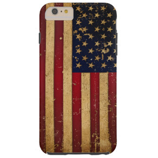 American Flag Tough iPhone 6 Plus Case