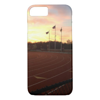American Flag Track and Field iPhone 7 case