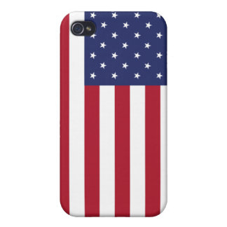 American Flag - USA - Covers For iPhone 4