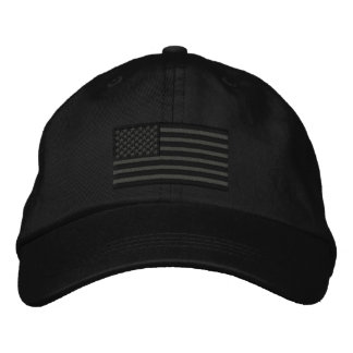 American Flag USA Large Embroidery Embroidered Hats