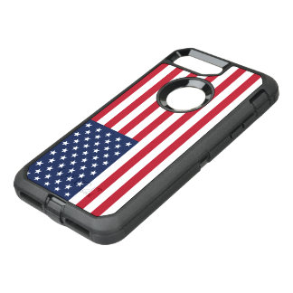 American Flag USA OtterBox Defender iPhone 8 Plus/7 Plus Case