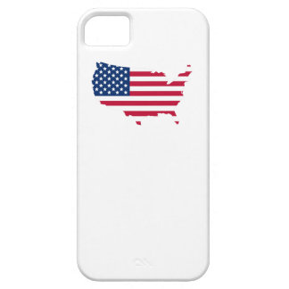 American Flag USA Silhouette iPhone 5 Covers