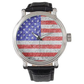 American Flag Vintage 3 Watch