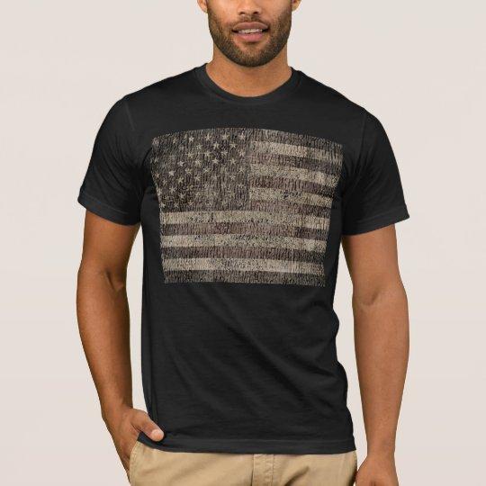 American Flag Vintage 9 T-Shirt