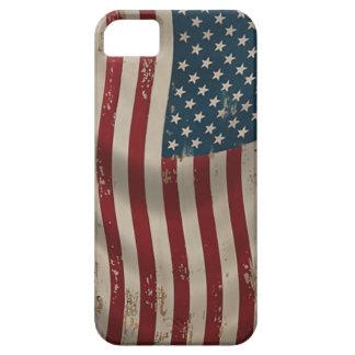 American Flag vintage iphone 5 case