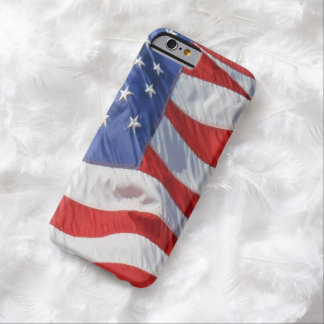American Flag Waving Wind Patriotic USA Barely There iPhone 6 Case