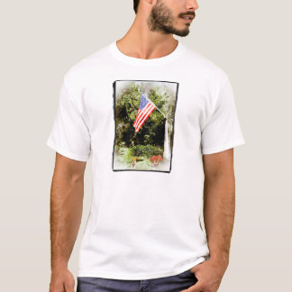 American Flag Welcome T-Shirt